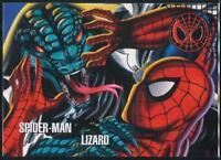 1996 Marvel Vision Trading Card #22 Spider-Man vs. Lizard