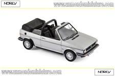 Volkswagen Golf Cabriolet de 1981Silver NOREV - NO 840073 - Echelle 1/43