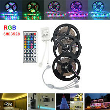 15M SMD3528 Non-Waterproof RGB 900 LED Strip Light Kit + 44 Keys Controller + Ca