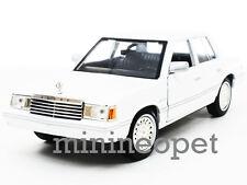 MOTORMAX 73335 1982 82 DODGE ARIES K 1/24 DIECAST MODEL CAR WHITE