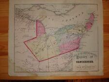 GLOUCESTER COUNTY BATHURST NEW BRUNSWICK CANADA MAP NR
