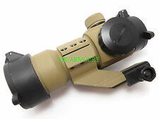 M3 Red/Green Dot Sight with high mount for Airsoft (TAN)