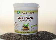 5 x 1 kg Chia Samen - Naturbelassen-100% rein-Premium Qualität - Glutenfrei