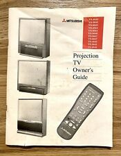Mitsubishi Projection TV Owner's Guide: VS-4543/5043/6043/4544/5044/5046/5047...