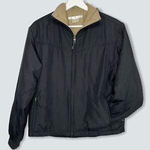 Ladies Nike Golf Black Full Zip Jacket Softshell Size M Medium (10-12)