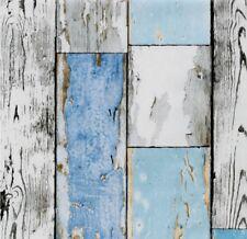 Klebefolie Vintage Holzoptik Möbelfolie selbstklebende Folie Holz Tapete Shabby