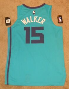Kemba Walker Charlotte Hornets Teal Authentic Jersey sz 48 Nike New w/ tags Mens