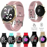 Damen Smartwatch Fitness Tracker Armband Sportuhr für Samsung iPhone 11 XS MAX