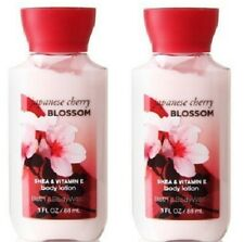 2x Bath & Body Works Travel Size Body Lotion - Japanese Cherry Blossom - 3 fl oz