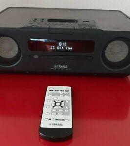 Yamaha TSX-130 Desktop Audio System Iphone IPod CD Radio USB In OVP Holzoptik