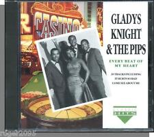 Gladys Knight & Pips - Every Beat of My Heart - New CD! 20 Song Charly UK CD!