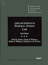 American Casebook: Cases and Materials on Federal Indian Law by Charles F....