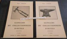 Verdier GLOSSAIRE DU COLLECTIONNEUR D'OUTILS 2 vol. METIERS Forge Enclumes Envoi