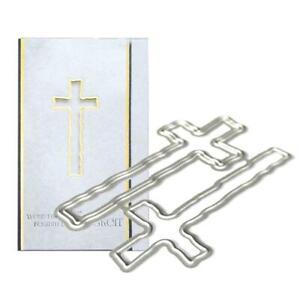 Kreuz Metall Stanzformen Schablone Scrapbooking DIY Album Stempel Papierkarte