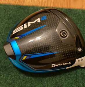 🔥TaylorMade SIM2 Driver 9.0 Head Only Used 2 Rounds