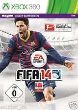 FIFA 14 Football/Soccer Game for Xbox 360 X360 German Language Version NEW