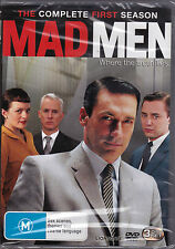 MadMen - The Complete First Season - DVD (Mad Men DVD Brand New Sealed)