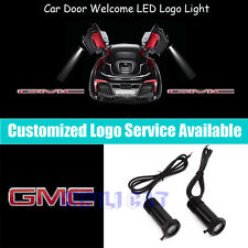 2PCS 3D GMC Logo Car Door Welcome Laser Projector CREE LED Shadow Light for GMC
