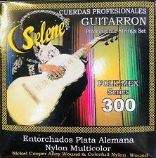 Guitarron Strings Selene (set of 6) 300 Plateado Nylon multicolor