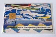 Croatia - GEMPLUS 100 Units - fine used chip phone card from 1992