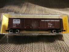 Atlas # 3602 50' Double Door Box Car Family Lines System # 614195 N Scale MIB