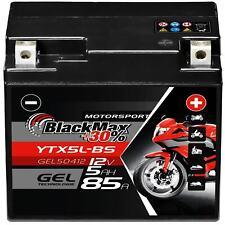 BlackMax YTX5L-BS 12V 5Ah Motorrad Gel Batterie