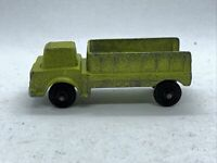 Vintage TootsieToy 1967 Shuttle Truck Lime Green