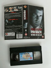 Payback VHS Video, Mel Gibson - Action 1999