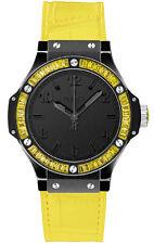 Hublot Big Bang Quartz Black Tutti Frutti 38mm Ladies Watch 361.CY.1110.LR.1911