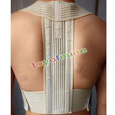 Supporto Spalla metallo Rod Postura Torna correttore Brace Cintura Vest