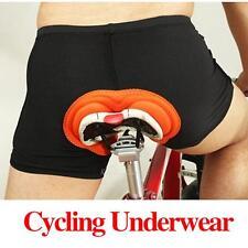 Unisex Multiple-layered Padded Short Underware For Bike Cycling 6 Size Optional
