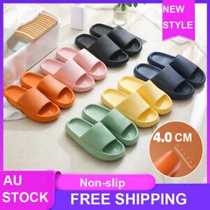 Pillow Slides Sandals Ultra-Soft Slippers Anti-Slip Extra Soft Cloud Shoes AU