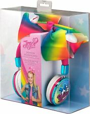 JOJO SIWA Girls Fashion Bow Headphones with built in microphone BRAND NEW IN BOX