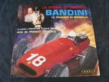La storia di Lorenzo Bandini en disco piloto Ferrari F1 GP Trincale 1967 Fonola