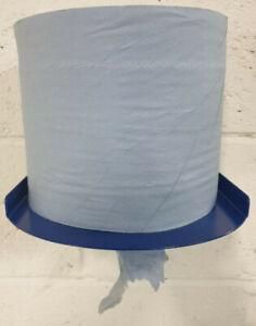 workshop/ garage/ tearoom Centre feed blue roll dispenser