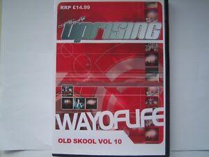 UPRISING OLDSKOOL 4 PACK CDs VOLUME 10 FREEPOST