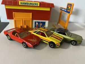 Hot Wheels '67 Chevy Camaro, Ford Mustang Turbo, Pontiac Firebird Vintage Lot