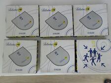 LOT Pochette range CD Ballantine's GO PLAY Couverture en Métal.DVD Blu Ray Neuf-