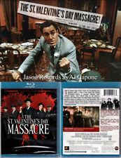 Blu-ray Roger Corman THE ST VALENTINE'S DAY MASSACRE Twilight Time A/B/C OOP NEW