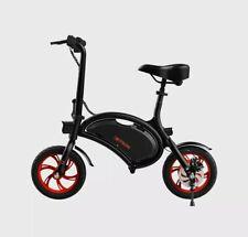"Jetson Bolt Foldable Electric Ride Bicycle 250 Watt-36V 12"" Wheels - Black & Red"
