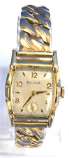 Lady's Vintage 1952 Bulova L2 Wrist Watch in Good Condition