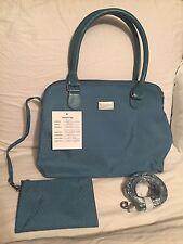 NEW! Baggallini Natalie Satchel Handbag Cypress