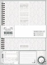 "Docrafts Papermania Wedding Ever After scrapbook memory ALBUM book set 7.5x8.5"""