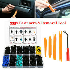 555x Car Interior Door Panel Moulding Trim Retainer Clip Fastener Assortment Kit