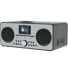Azatom CD DAB DAB+ Radio Alarm Clock Bluetooth FM Speaker charger Trinity Black