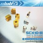 12mm Brass Extended Wheel Hex for Axial SCX10 III Portal Axle