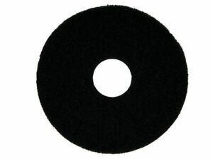 """Oreck Commercial 437071 Strip Orbiter Pad, 12"""" Diameter, Black, For ORB550MC Orb"""