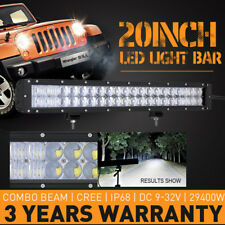 20inch 29400W CREE Led Light Bar Combo Beam Work Driving Lamp Offroad 4WD SUV