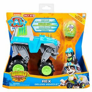 Paw Patrol DINO RESCUE REX Vehicle and Figure Playset Deluxe Exclusive