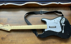 Harmonix Playstation Fender PS4 PS3 Rock Band Guitar 822151 Tested No Dongle